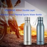 TOMSHOO 450ml Outdoor Sports Bottle