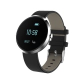 Rechargeable Water resistant Multi-functional BT4.0 Smart Sports Fitness Blood Pressure Heart Rate Tracker Monitor Pedometer Watch Calls Message Reminder with OLED Display for Running Jogging for Android for iOS Phones