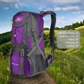 メンズ・レディース50L大容量アウトドアスポーツ登山のバックパックハイキングトレッキングトラベルバッグナップザック