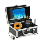 "1000TVL WiFi Underwater Fishing Camera Fish Finder 5 Mobile App Viewing for iOS for Android 7"" Color Monitor 30m Cable"