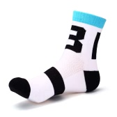 1 Pair of Odor Resistant Wicking Breathable Quick Drying Sports Socks Cycling Socks Anti-deformation Socks Ankle Socks
