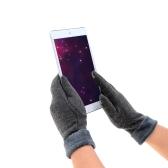 女性のための冬のタッチスクリーン手袋 アウトドアスポーツタッチスクリーン手袋 フリーサイズ