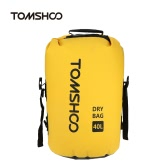 TOMSHOO 40L Outdoor Water-Resistant Dry Bag Sack Storage Bag for Travelling Rafting Boating Kayaking Canoeing Camping Snowboarding