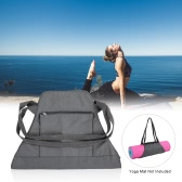 Yoga Mat Carrier Exercise Yoga Mat Bag with Multi-Functional Storage Pockets