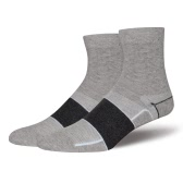 1 Pair of Breathable Ankle Sock Sports Cycling Sock Cotton Thickened Compression Socks