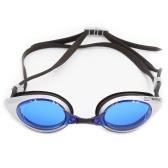 ウィメンズメンズグレア軽減ミラーコーティングスイムゴーグル防曇UVカット水着水泳ゴーグルの収納ケース大人とスポーツアイウェアメガネ