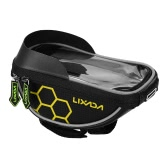 Lixadaサイクリング自転車自転車バッグトップチューブハンドルバーバッグタッチスクリーン携帯電話マウントホルダーMTBロードバイク自転車フロントフレームバッグ