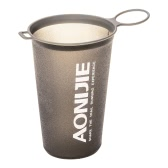 AONIJIE 200ml BPA Free Foldable Soft Water Cup for Outdoor Sports Marathon Cycling Camping Running