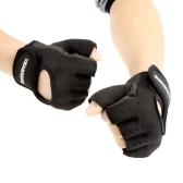 男性&女性スポーツフィットネスサイクリングジムハーフフィンガー重量挙げ用グローブ運動トレーニンググローブ