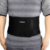 Elastic Ajustable Velcro Waist Support Brace Belt Lumbar Back Protection