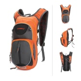 Unisex Water Resistant Breathable Adjustable Shoulder Nylon Outdoor Sports Traveling Hiking Cycling Backpack 18L