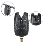 8 LEDs Water Resistant Adjustable Tone Volume Sensitivity Sound Alert Fishing Bite Alarm for Fishing Rod