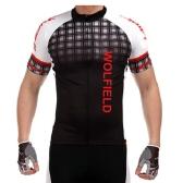 WOLFBIKE 2015年新作 夏用サイクルウェア 半袖 サイクルジャージ おしゃれ サイクリングファッション 吸汗速乾/通気がいい/普通タイプ