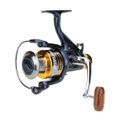10+1BB Ball Bearings Left/Right Interchangeable Collapsible Handle Carp Fishing Wheel Metal Spinning Reel Aluminum Spool High Speed 5.1:1