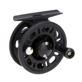 Plastic Fly Fish Reel Former Rafting Ice Fishing Vessel Wheel Fishing Gear Left/Right Interchangeable