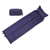 188 * 57 * 2.5cm Waterproof Automatic Inflatable Self-Inflating Dampproof Sleeping Pad Tent Air Mat Mattress with Pillow for Outdoor Camping
