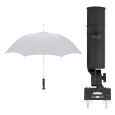 Black Golf Club Umbrella Holder Fit Cart Car Trolley Pushchairs