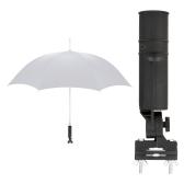 黒のゴルフ クラブ傘ホルダー適合カート車トロリー ベビーカー
