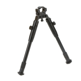 """Adjustable 8"""" to 10"""" Height Retractable Clamp on Barrel Bipod"""