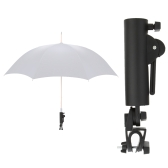 Black Golf Club Push Pull Cart Car Trolley Umbrella Holder