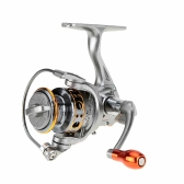 12+1 BB 5.2:1 Ratio Right Left Hand Interchangeable Spinning Fishing Reel with Storage Bag