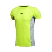 LI-NING Running Series Quick Dry Breathable Summer Sports Wear Men T-shirt Short Sleeve AHSK181