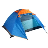 Outdoor Camping Waterproof Double Layer 2-3 People Tent with Bag