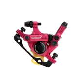 Cable-Actuated Hydraulic Integrated Bicycle Front / Rear Disc Brake Set MTB Mountain Bike 160mm Oil Disc Braking Rotor