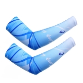Men Women Outdoor Elastic Breathable Bicycle Arm Sleeves