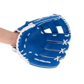 "10.5"" Softball Baseball Glove Outdoor Team Sports Left Hand Blue"