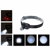 5W Telescopic Lightweight Water Resistant LED Headlight Fishing Light Outdoor Lighting LED Camping Headlamp