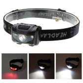 3W軽量防水LEDヘッドライト 釣りライト 屋外照明LED キャンプヘッドランプ