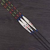 3Pcs Fishing Floats Bobbers Barr Wood Fishing Tackle Tools
