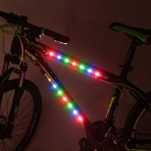 Bicycle Bike Decorative 3 Mode 14 LED Colorful Light Strip