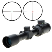 Visionking 1.5-5X32GL Red&Green Illuminated Mil-dot Riflescope for Hunting