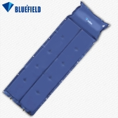 BlueField Outdoor Camping Thick Automatic Inflatable Mattress Self-Inflating Moistureproof Tent Mat Folding Mat with Pillow