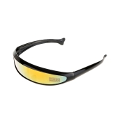 Outdoor Fishtail UV400 Cycling Glasses for naked riding event