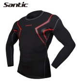 Men Breathable Long Sleeve Skin Tight Compression Shirt Base Layer for Running Workout Sports