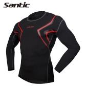 男性用通気性の長袖スキンタイトコンプレッションシャツベースレイヤー ランニングトレーニングスポーツに適用 XLサイズ