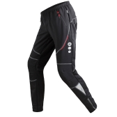 Santic Men Outdoor Casual Sports Winter Thermal Windproof Trousers Pants