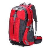 40L Waterproof Outdoor Sport Travel Backpack Mountain Climbing Camping Hiking Knapsack with Rain Cover