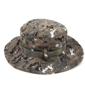 Military Camouflage Wide Round Brim Outdoor Fishing Camping Hiking Sun Cap Men Hat