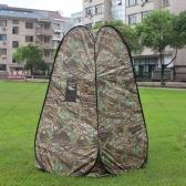 ポータブルプライバシーシャワー/トイレテント キャンプテント 迷彩