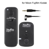 YouPro YP-860 2.4G Wireless Remote Control Shutter Release Transmitter Receiver for DSLR Camera
