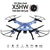 SYMA X5HW Wifi FPV Drone RC Quadcopter - Blue