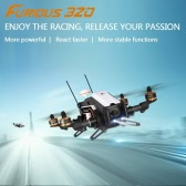 Original Walkera Furious 320 GPS Version FPV Racing Drone RTF RC Quadcopter with OSD 800TVL Camera DEVO 10 Transmitter