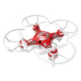 FQ777 124 2.4G Drone Mini RC Quadcopter - Red