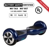 6.5 inch 2 Wheels Smart Self Balancing Scooter-Blue