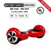 6.5 inch 2 Wheels Smart Self Balancing Scooter-Red