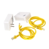 200Mbps Network Extender Homeplug AV Powerline Adapter